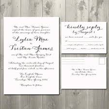 wedding invitations and rsvp wedding invitation and rsvp packages simplo co