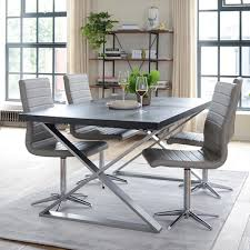 chocolate dining room table crossed leg extending dining table chocolate dwell