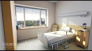 chambre virtuelle chambre d hôpital en réalité virtuelle
