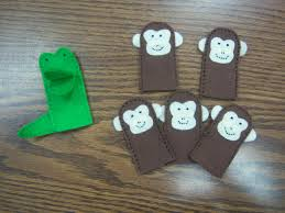 flannel friday five little monkeys kids crafts pinterest