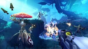 wallpaper battleborn 2015 game fps moba fantasy space