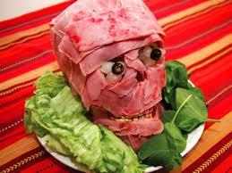 halloween food meat head manolith