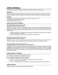 Ct Tech Resume Examples by Emt Resumes Resume Cv Cover Letter
