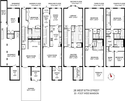 brownstone floor plans billie holiday s former uws brownstone listed for 12 95m streeteasy