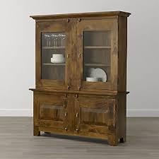 mango wood kitchen cabinets mango wood cabinets crate and barrel