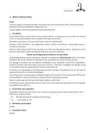 policy u0026 procedure manual sample