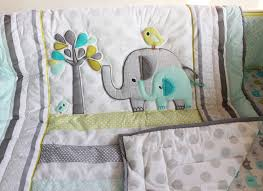 Nursery Bed Set New 7 Pcs Baby Bedding Set Baby Crib Bedding Sets Elephant