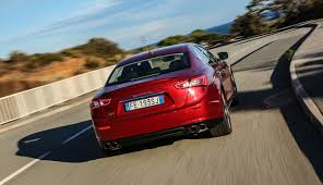 red maserati sedan 2017 maserati ghibli pricing and specs more power and even more