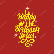 merry christmas and happy birthday image clip art