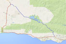 Route 66 Map How Long To Drive by California Highway 101 La To San Francisco Road Trip