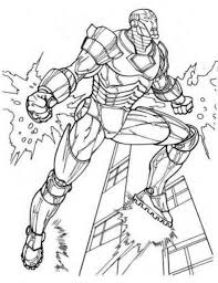 amazing iron man in the avengers coloring page download u0026 print
