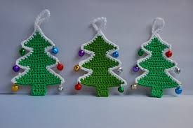 handmade holidays with 10 more free crochet ornaments moogly