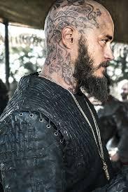 why did ragnar cut his hair ragnar head tattoo beard men s clothing and style pinterest