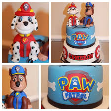 TLite Cakes and Planning Paw Patrol Cake Marshall and Chase