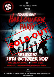 halloween party 2017 offers the butterfly hotel