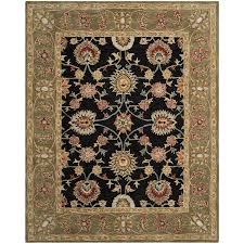 Green And Brown Area Rugs Amazon Com Safavieh Anatolia Collection An561c Handmade