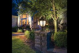low voltage led column lights low voltage outdoor landscape lighting gallery 1 western outdoor