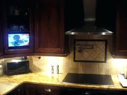 under cabinet tv mount swivel under kitchen cabinet tv under kitchen cabinet player screen under