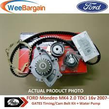 ford mondeo mk4 2 0 tdci u0026 more gates kp15606xs timing belt kit