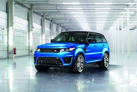 tan land rover 2015 range rover sport svr officially unveiled with estoril blue coat