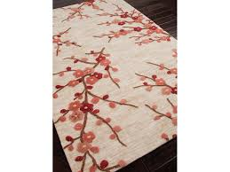 Floral Pattern Rugs Jaipur Rugs Floor Coverings Hand Tufted Floral Pattern Polyester
