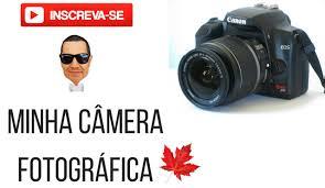 minha câmera fotográfica canon 1000d xs video extra youtube