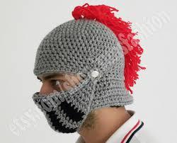 crochet pattern knight helmet free winter hats game of thrones boyfriend gift winter hat knight