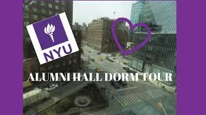 nyu alumni hall dorm tour kir webb youtube