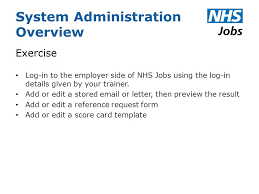 system administration overview about the role most important role