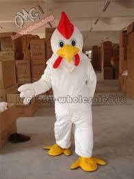 Halloween Chicken Costume Deluxe White Chicken Suit Size Bird Costume Party Dress