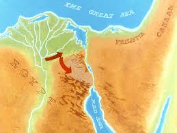 The Red Sea Map Free Bible Images God Opens A Path Through The Red Sea For Moses