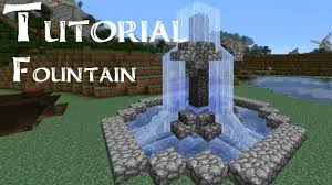 how to make a small minecraft tutorial how to build a small fountain nintendo