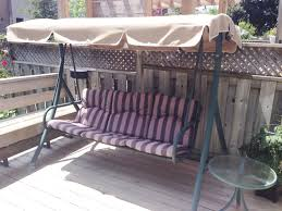 Swing Cushion Replacement Canada by Replacement Patio Swing Canopy Sears Canada