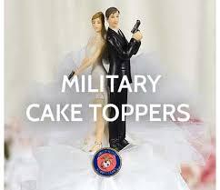 army wedding cake toppers wedding cake toppers wedding collectibles