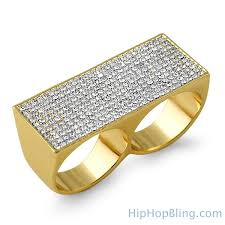 finger rings images images 2 finger rings hip hop rings gif