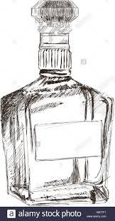 liquor bottle sketch icon stock vector art u0026 illustration vector