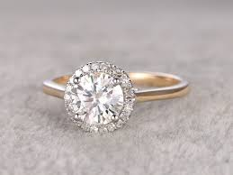 plain engagement ring with diamond wedding band two tone promise diamond rings wedding promise diamond