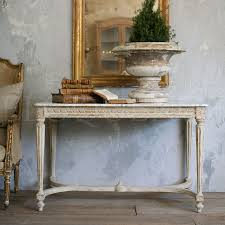 White Entry Table by Eloquence Collection Dining U0026 Coffee Tables Eloquence Contessa