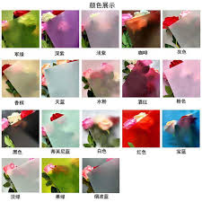 waterproof wrapping paper 20pcs 60x60cm korean flower waterproof wrapping paper packaging gift