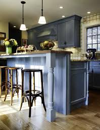 twitter chuckwheelock blue farmhouse kitchen at home
