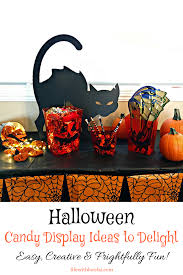 halloween candy display ideas to delight life with lorelai