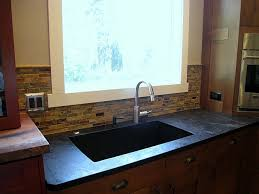 Blanco Silgranit Kitchen Sinks by Soapstone Countertops With Single Basin Blanco Silgranit Sink