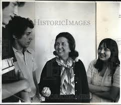 Senators Wife 1976 Press Photo Mrs Bethine Church Senators Wife Sunset Hs