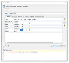 db2 alter table add column altering a table dbvisualizer 10 0 users guide dbvisualizer