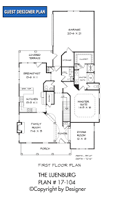 luenburg house plan house plans by garrell associates inc