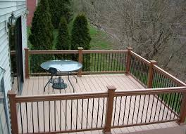 Outdoor Banister Deck Railing Systems And Different Materials Used To Make Them