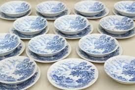 white china blue white china