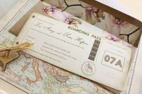 ticket wedding invitations orchid boarding pass wedding invitation plane ticket wedding