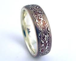 japanese wedding ring mokume gane wedding rings the wedding specialiststhe wedding