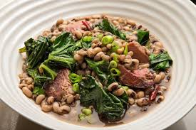black eyed peas with ham hock and collards recipe nyt cooking